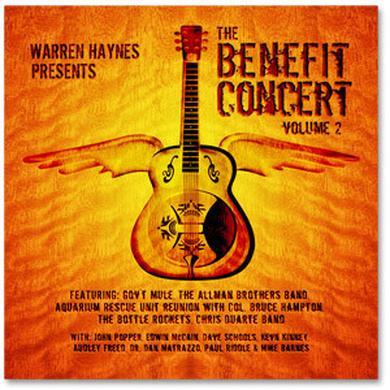 Evil Teen Records Warren Haynes Presents: The 2000 Benefit Concert Volume 2 2-CD Set