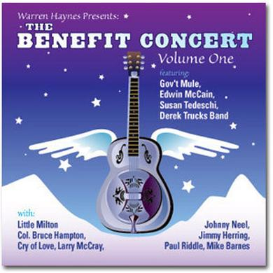 Evil Teen Records Warren Haynes Presents: The 1999 Benefit Concert Volume 1 2-CD Set