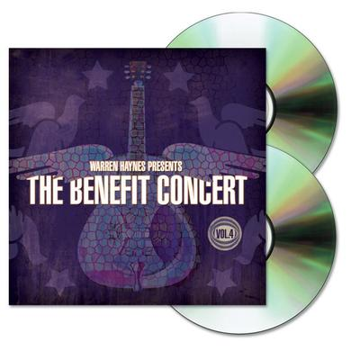 Evil Teen Records Warren Haynes Presents: The 2002 Benefit Concert Volume 4 2-CD Set