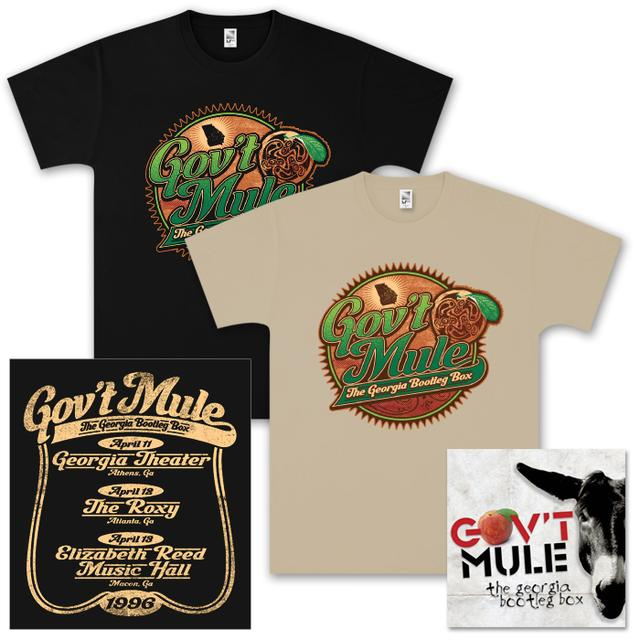 Evil Teen Records Gov't Mule – The Georgia Bootleg Box Set CD and T-Shirt Bundle