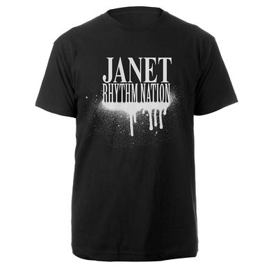 Janet Jackson Rhythm Nation T-Shirt + CD