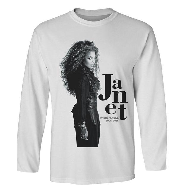 Janet Jackson Janet Profile Photo Long Sleeve T-Shirt + CD