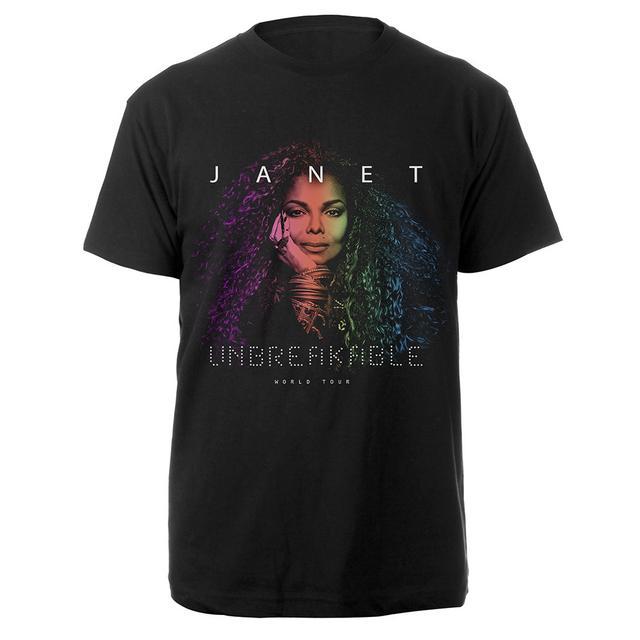 Janet Jackson Portrait T-Shirt + CD