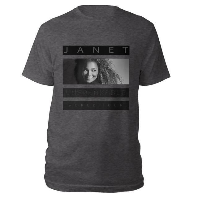 Janet Jackson Janet Unbreakable T-Shirt + CD