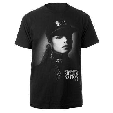Janet Jackson Rhythm Nation Album T-Shirt + CD