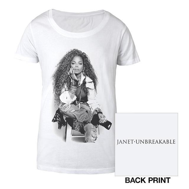 Janet Jackson Burnout T-Shirt