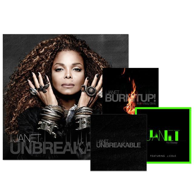 Janet Jackson CD + 3 Instant Downloads