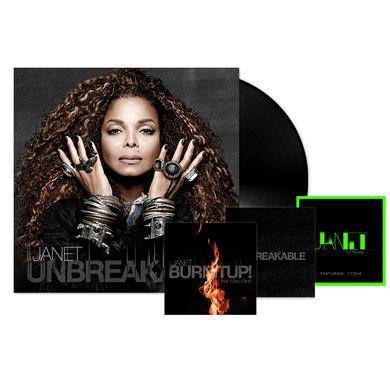 Janet Jackson Unbreakable LP + 3 Instant Downloads (Vinyl)