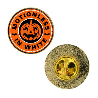 Motionless In White PUMPKIN ENAMEL PIN
