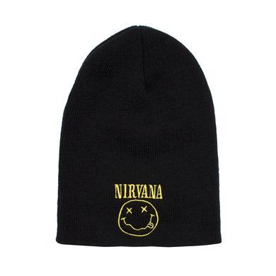 """Nirvana """"Smile"""" Beanie"""