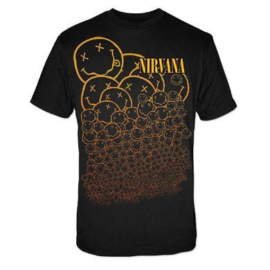 """Nirvana """"Many Smiles"""" Tee"""