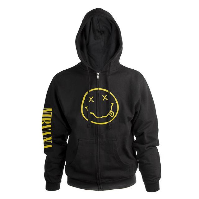 """Nirvana """"Smile"""" Hoodie"""