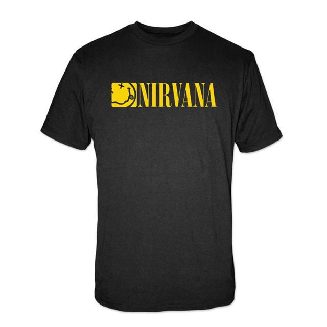 """Nirvana """"Boxed Smile"""" Tee"""