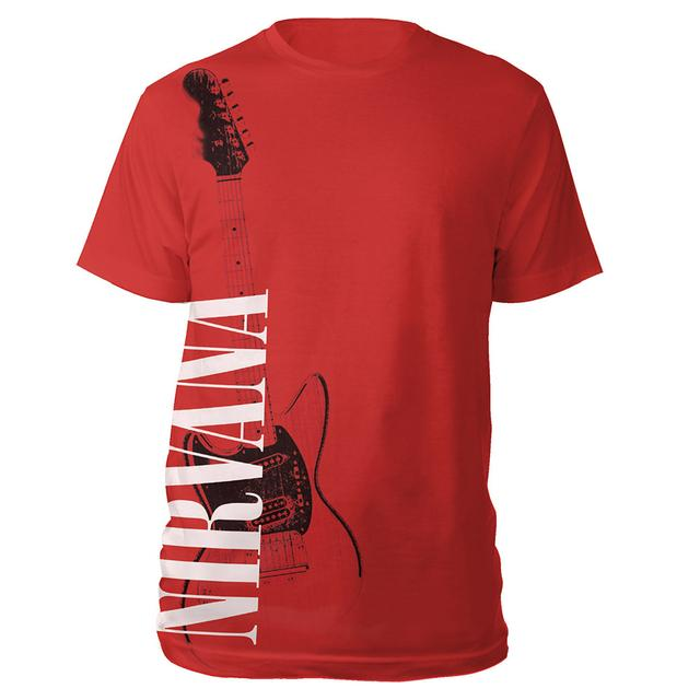 "Nirvana ""Red Guitar"" Tee"
