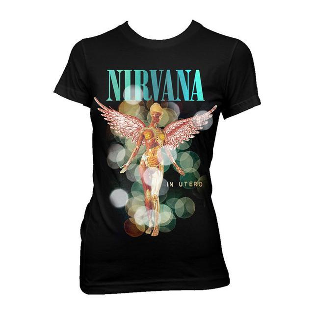 """Nirvana """"Bubbles in Utero"""" Tissue Tee"""