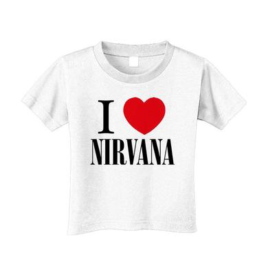 """I Love Nirvana"" Toddler Tee"