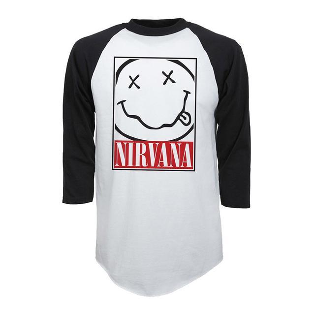 "Nirvana ""Box Smile"" Raglan"