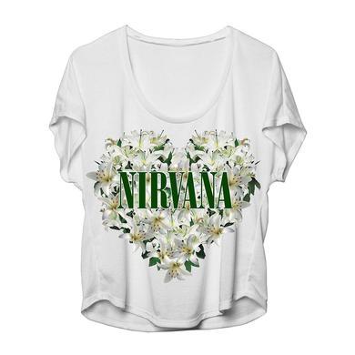"Nirvana ""Floral Heart"" Dolman"