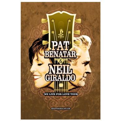 Pat Benatar 2016 Tour Poster