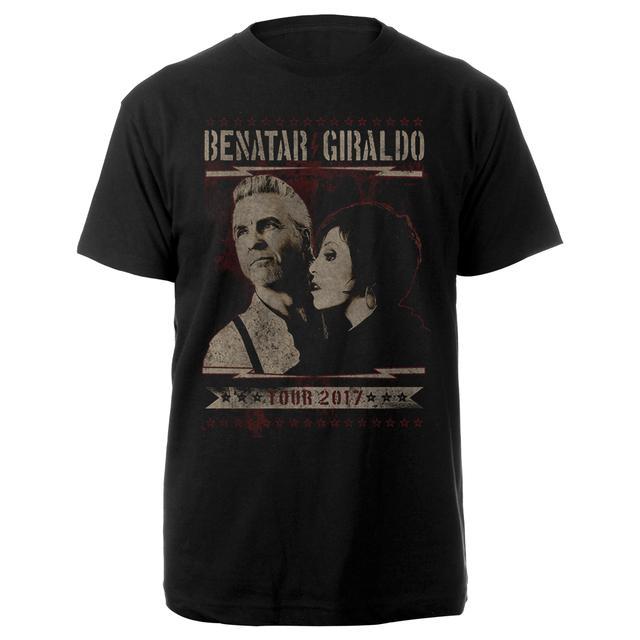Pat Benatar - Neil Giraldo Benatar Gilraldo Portrait Tee
