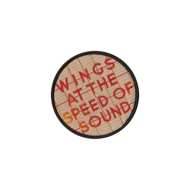 Paul McCartney 'Wings At The Speed of Sound' Sew on Patch