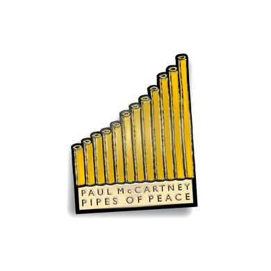 Paul Mccartney Pipes of Peace Enamel Badge