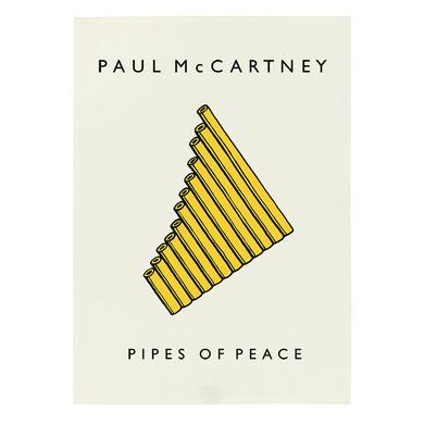 Paul McCartney Pipes of Peace Tea Towel