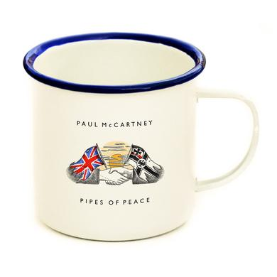 Paul Mccartney Pipes of Peace Enamel Mug
