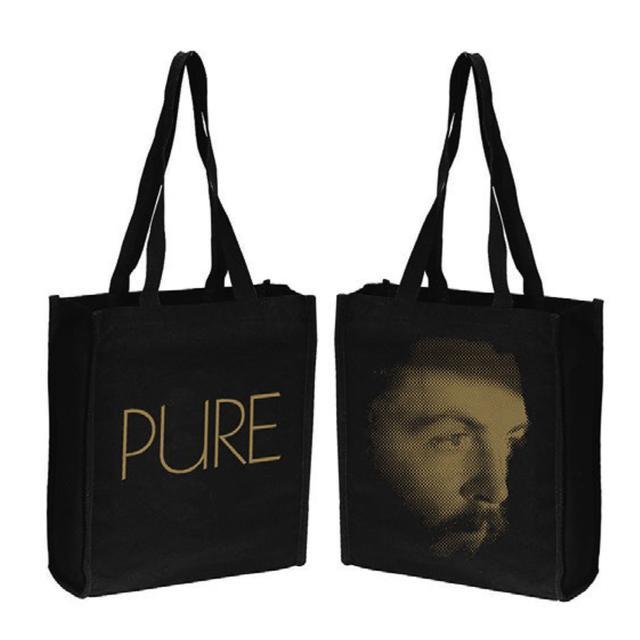 Paul Mccartney 'Pure McCartney' Black Tote Bag