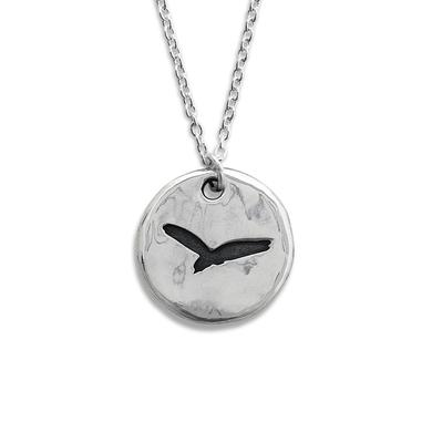 Paul McCartney Sterling Silver Blackbird Necklace