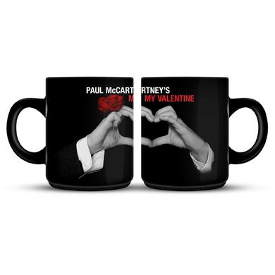 Paul Mccartney My Valentine Black Photo Mug