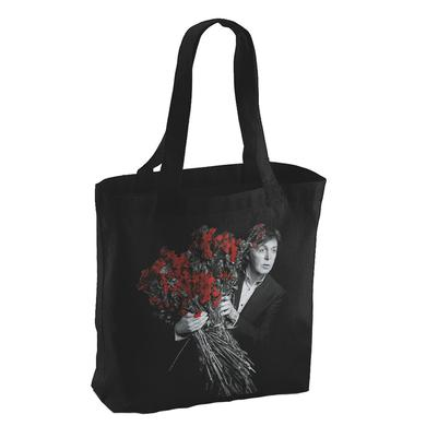 Paul Mccartney My Valentine Black Photo Tote Bag