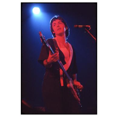 Paul McCartney Guitar Lithograph