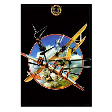 Paul Mccartney Wings Tour Programme Lithograph