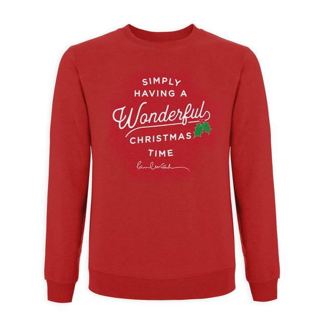 Paul Mccartney Wonderful Christmas Time Sweatshirt