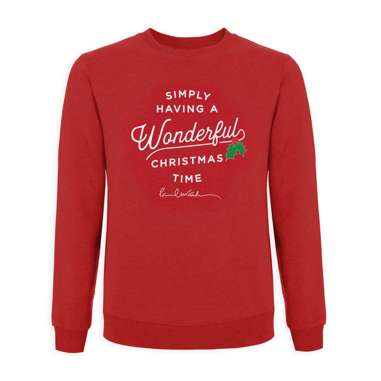 paul mccartney wonderful christmas time sweatshirt tap to expand - Wonderful Christmas Time