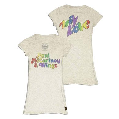Paul McCartney Trunk My Love Scoop Neck Tee