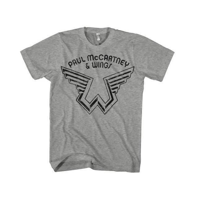 Paul McCartney & Wings Logo Tee