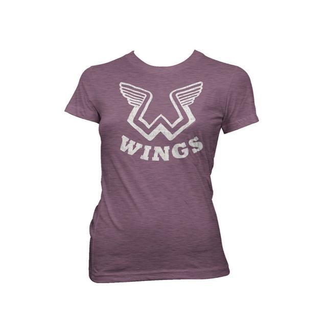 Paul Mccartney Wings Logo Women's Tee