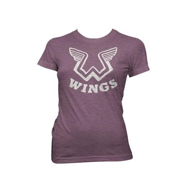 Paul Mccartney Wings Logo Women's Tee
