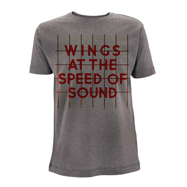Paul Mccartney Wings 'At The Speed Of Sound' Men's Tee