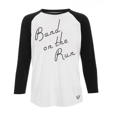 Paul McCartney 'Band On The Run' Unisex Raglan Tee