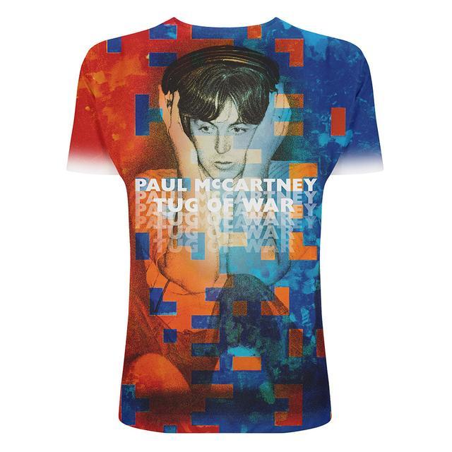Paul Mccartney Tug of War Sublimation T-shirt