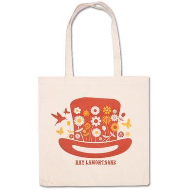 Ray Lamontagne Hat Tote Bag Natural
