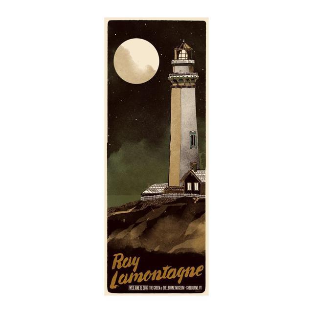 Ray Lamontagne The Ouroboros Tour 2016 - Shelburne, VT Poster