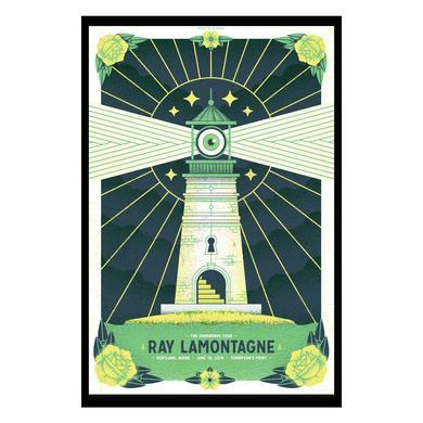 Ray Lamontagne The Ouroboros Tour 2016 - Portland, ME Poster
