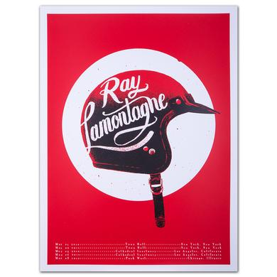 Ray LaMontagne Spring 2014 Tour Poster