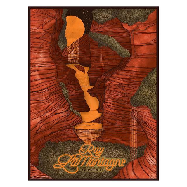 Ray Lamontagne The Ouroboros Tour 2016 - Wallingford, CT Poster