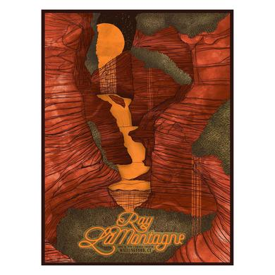 Ray Lamontagne The Ouroboros Tour 2016 - Wallingford, CT Poster