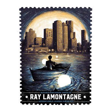 Ray Lamontagne The Ouroboros Tour 2016 - Boston, MA Poster